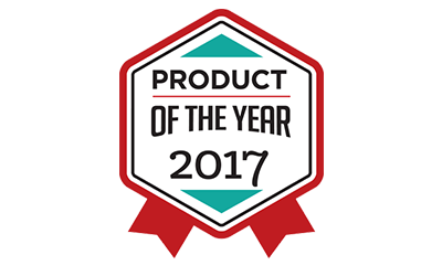 Product of the Year 2017 Award Winner